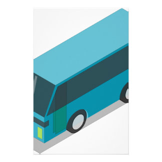 Teal Bus Stationery