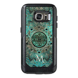 Teal Celtic Knot Mandala Otterbox OtterBox Samsung Galaxy S7 Case