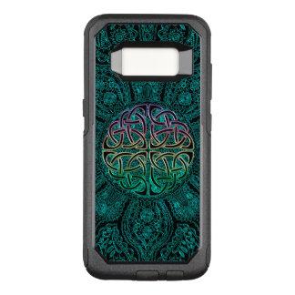 Teal Celtic Mandala Otterbox Galaxy S8 Case
