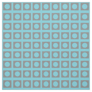 Teal Circle Square 4Ritchie Fabric