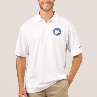 Teal circluar Xubuntu logo Polo T-shirt