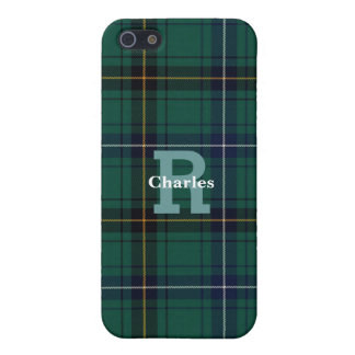 Teal Clan Henderson Plaid Custom iPhone 5S Case iPhone 5 Cases