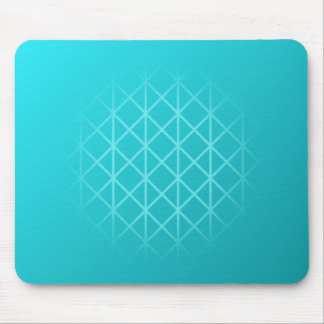 Teal Color Background Design with Grid Pattern. Mousepads