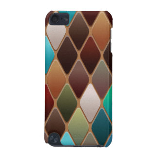 Teal Diamond Mosaic iPod Touch 5G Covers