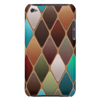 Teal Diamond Mosaic iPod Touch Case-Mate Case