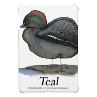 Teal duck, tony fernandes iPad mini cases
