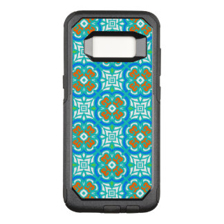 Teal Ethnic Pattern OtterBox Commuter Samsung Galaxy S8 Case