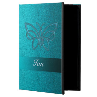 Teal Fabric With Celtic Butterfly iPad Air 2 Case