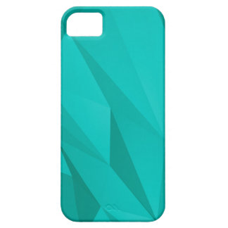 Teal Geometric Shapes iPhone 5 Cases