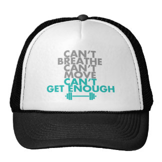 "Teal ""Get Enough"" Hat"