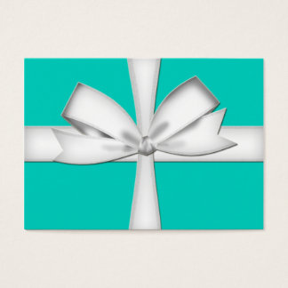 Teal Gift Card Business Card