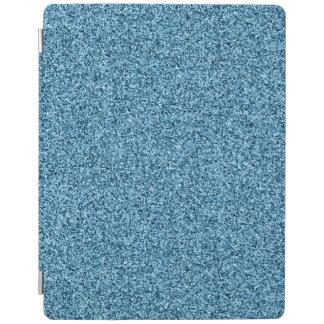 Teal glitter iPad cover