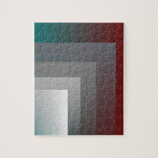 teal gray burgundy jigsaw puzzle