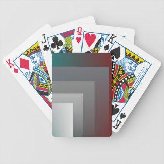 teal gray burgundy poker deck