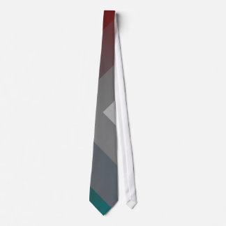 teal gray burgundy tie