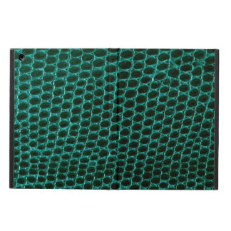 Teal Green Alien Snakeskin iPad Air Case