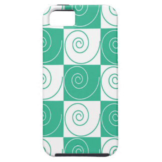 Teal Green Mouse Tails iPhone 5 Case
