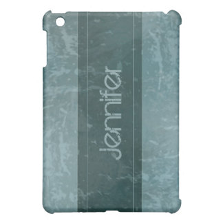 Teal Grunge Marble Distressed  iPad Mini Case