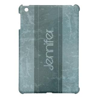 Teal Grunge Marble Distressed  iPad Mini Case