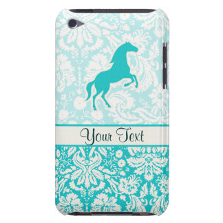Teal Horse Barely There iPod Covers
