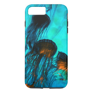 Teal Jelly Fish iPhone 8 Plus/7 Plus Case