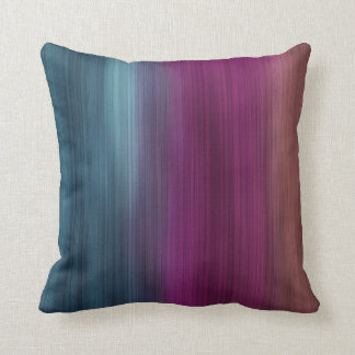 Teal Magenta Sienna Modern Throw Pillow
