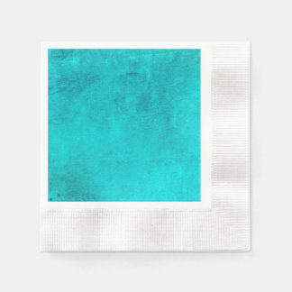 Teal Magic Paper Napkin