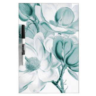 Teal Magnolia Dream Dry Erase Board