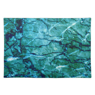 Teal Marble Placemat