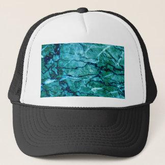 Teal Marble Trucker Hat