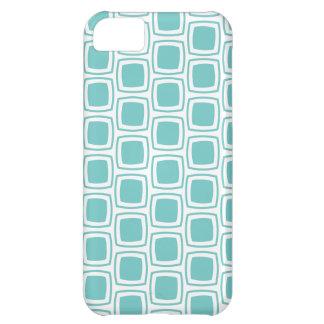 Teal Modern Geometric Pattern iPhone iPhone 5C Case