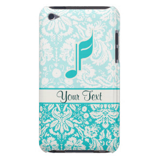 Teal Music Note iPod Touch Case
