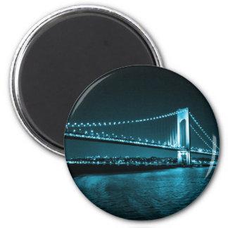 Teal Narrows Bridge magnet