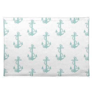 Teal Nautical Placemats