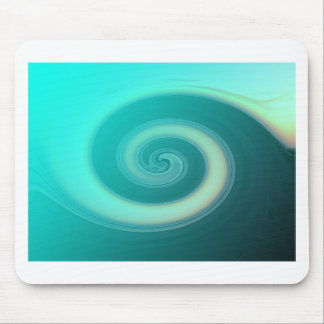 Teal Ocean Wave Mousepad