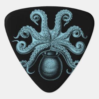 Teal Octopus Guitar Pick