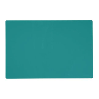 Teal Laminated Placemat