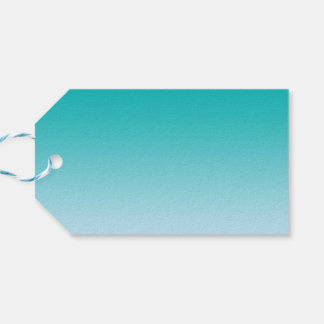 Teal Ombre Gift Tags