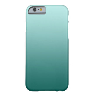 Teal Ombre iPhone 6 case Barely There iPhone 6 Case