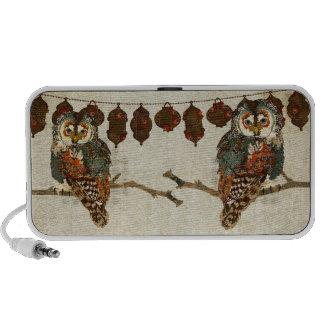 Teal Owls Doodle Speaker