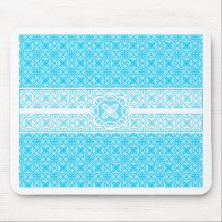 Teal Pattern Mousepads
