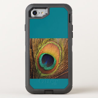 Teal Peacock 4Carla OtterBox Defender iPhone 7 Case