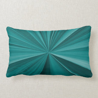 Teal Pinch Knot Pillow