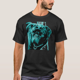 Teal Pug T-Shirt