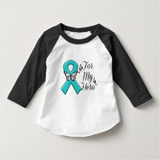 Teal Ribbon For My Hero T-Shirt