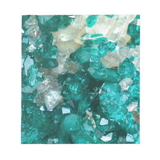 Teal Rock Candy Quartz Notepad
