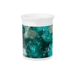 Teal Rock Candy Quartz Pitcher