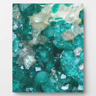 Teal Rock Candy Quartz Plaque
