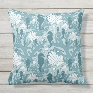 Large Teal Throw Pillow : Teal Outdoor Cushions & Pillows Zazzle.com.au