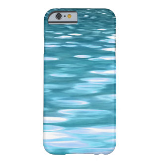 Teal shimmer barely there iPhone 6 case